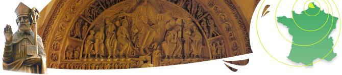 Nombre de typmans de cathédrales présentent la résurrection et le jugement dernier