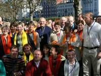Quelques-uns des 91 participants du diocèse