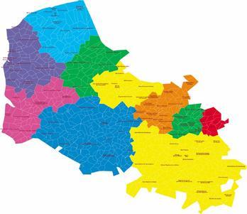 Le diocèse en dix doyennés