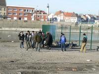 Réfugiés Calais 22-12-2007