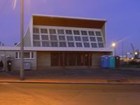 Havre provisoire, la nuit, pour les réfugiés. propriété du Conseil régional.