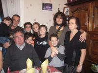 Trois générations de portugais réunis à Noël