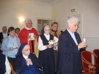 Célébration dan sla communauté des servantes de Marie