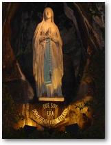 Vierge Marie à Lourdes