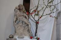 Marie au pied de la crooix pieta