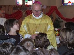 Présentation des lettres en vue de la première communion