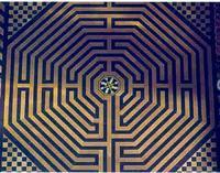 labyrinthe cathédrale d'Amiens