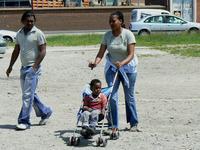 Réfugiés, Calais, 11 juin 2008