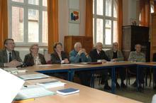 M. G.Duverchin, Melle. B.Catoire, Mme. B.Lefebvre, M.l'abbé L.Hamain, M. J-M.Duval, M. C.Launay, M. G.Devulder.