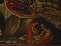 Eglise grecque orthodoxe de la Nativité à Bethléem, tableau détail