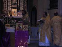 Liturgie orthodoxe à Arras