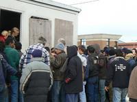 Réfugiés à Calais 15.10.08