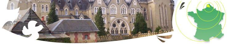l'Abbaye vue du jardin