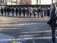 Cercle de silence à Calais