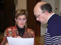 Marguerite Leclercq et Frédéric Duminy