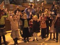 enfants en prière