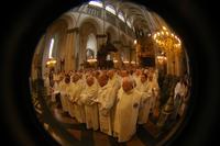 L'assemblée des prêtres et diacres