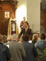 Vëpres solennelles du 1er mai à la cathédrale