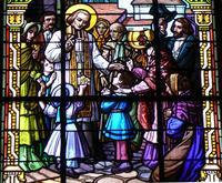 Vitrail Maison diocésaine d'Arras- Ars