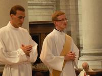 deux ordinands Pierre Poidevin et Emmanuel Fontaine