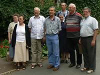 Missionnaires en congéset l'équipe de coopération