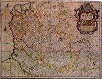 Carte du Comté d'Artois XVIIe siècle