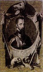 Portrait du Duc d'Albe  qui dirirge la répression