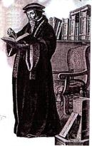 Gravure de Jean Calvin
