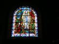 Vitrail de Notre Dame de Lourdes