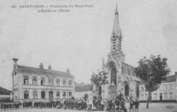 Eglise de l'Immaculée Conception en 1904