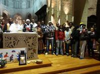 Noël avec des Erythréens à Lillers