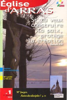 Couverture Eglise d'Arras 1-2010