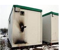 Incendie de l'algeco-douches à Calais