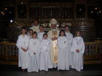 Servants d'autel à Rome 2007