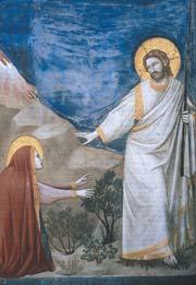 Résurrection. (Apparition au tombeau).