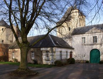 Le porche de l'abbaye