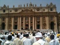 Cloture messe annee sacerdotale à Rome