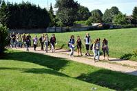 Marche des Jeunes en 2010 vers Amettes