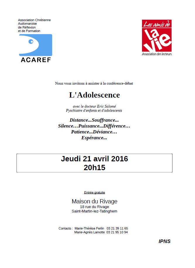 ACAREF-La Vie_21 avril 2016
