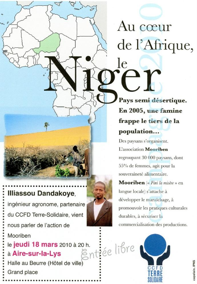 Aire Accueil Niger
