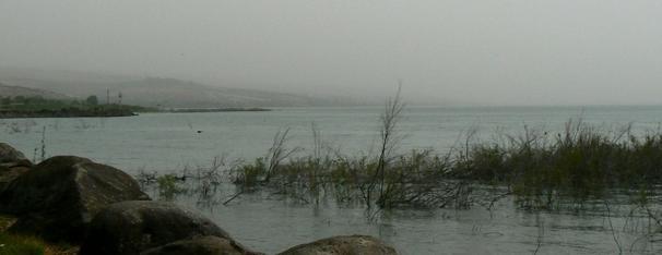 Bord du Lac de Capharnaüm