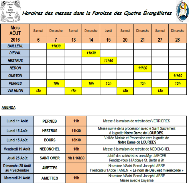 8-Calendrier Aout