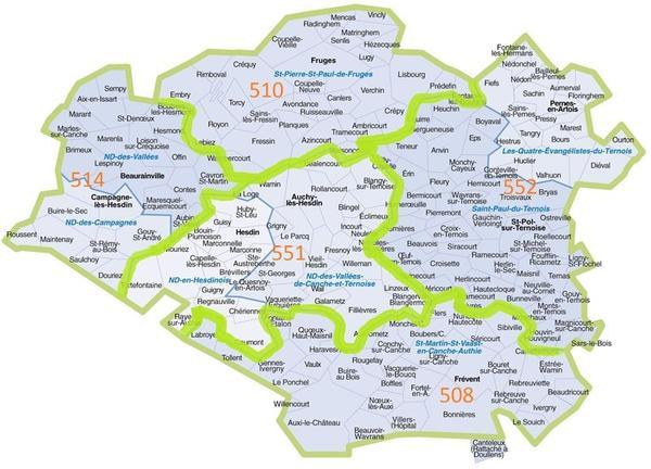 carte REM 7 vallees