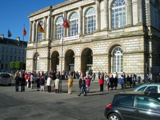 Cercle de silence a St Omer