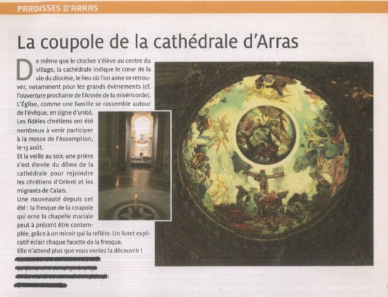 coupole cathedrale arras