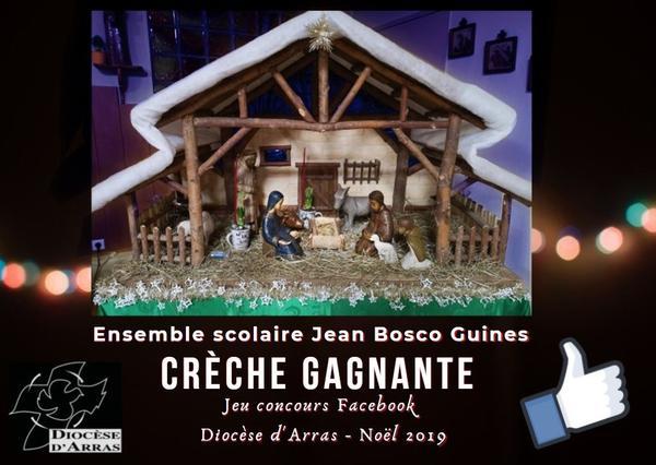 creche gagnante Jean Bosco Guines