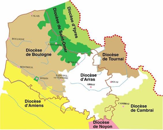 diocèses originels