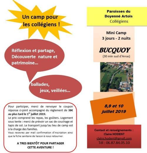 image camp collegiens