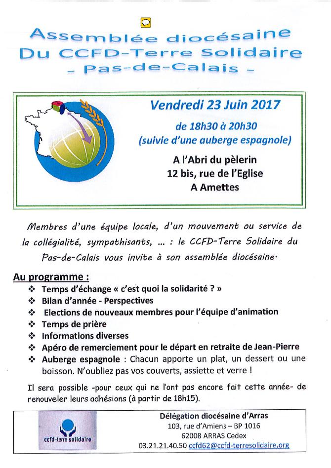 invitation 23 juin 2017