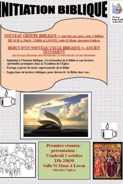 Invitation biblique
